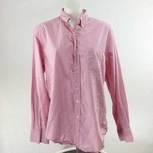J.Crew Quality Woven Shirt Button Down Mens sz L